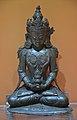 Maitreya Buddha - Brass - 18th Century CE - Arakan - ACCN 5045 - Indian Museum - Kolkata 2016-03-06 1734.JPG