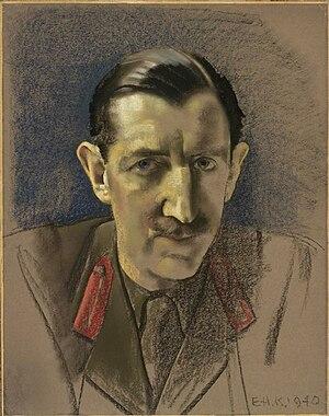 Frederick Beaumont-Nesbitt - Sketch of Beaumont-Nesbitt in 1940