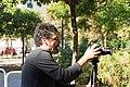 Making-of del cortometraje Macarril bici 35.jpg