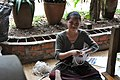 Making ladies' bags from hand made paper (14625980053).jpg