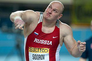 Maksim Sidorov (shot putter) Russian shot putter
