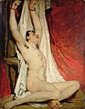 Male Nude, with Arms Up-Stretched YORAG 74.JPG