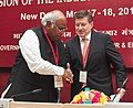 Mallikarjun Kharge with the DG International Labour Organisation (ILO), Mr. Guy Ryder, at the special session of the 45th Indian Labour Conference, in New Delhi on May 18, 2013.jpg