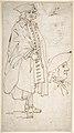 Man Smoking a Pipe (recto); Standing Man and Two Studies of His Head (verso) MET DP808199.jpg