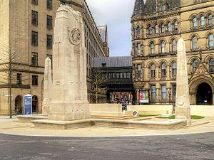 St Peter's Square, Manchester - Image: Manchester Cenotaph November 2014