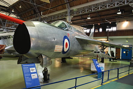 Lightning P.1A at the Museum of Science and Industry in Manchester - English Electric Lightning
