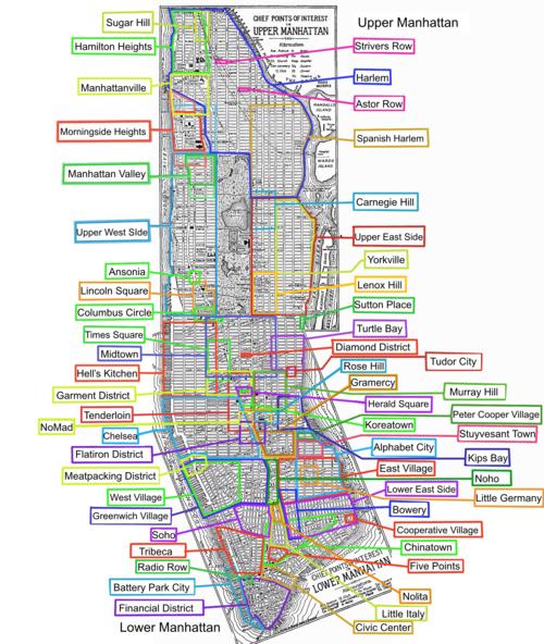 mapa manhattan Manhattan   Wikipedia, la enciclopedia libre mapa manhattan