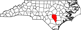 Koort vun Sampson County