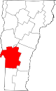 Map of Vermont highlighting Rutland County.svg