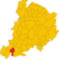 Map of comune of Castel di Casio (province of Bologna, region Emilia-Romagna, Italy).png