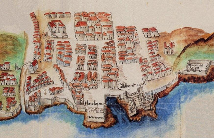 Mapa Plaza España 01l