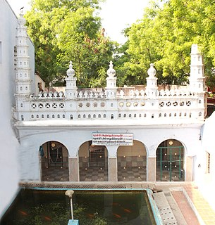 Madurai Maqbara Three Sufi shrines in the Kazimar Big Mosque, Madurai, India
