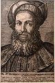 Marcantonio raimondi forse su dis. di giulio romano, ritratto di pietro aretino, 1524 ca., bulino, II stato (roma, ist. naz.le grafica).jpg