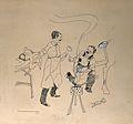 Marcel Lermoyez. Pen drawing by (Lautrimi ?), 1911. Wellcome V0003506.jpg