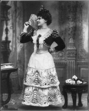 Marcella Sembrich - Sembrich in the role of Rosina