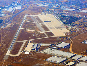 March Air Reserve Base - Image: March Air Force Base photo D Ramey Logan