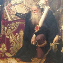 Мартин зборовський на картині яна