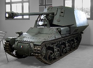 Lorraine 37L - The Marder I was a simple conversion of the Lorraine 37L