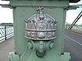 Maria Valeria Bridge, Holy Crown of Hungary in Esztergom.jpg