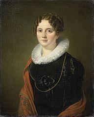 Portrait of Marie Allebé-Herckenrath, Grandmother of the Painter August Allebé