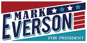 Mark Everson - Mark Everson's campaign logo
