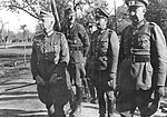 Marshal Erich von Manstein during the inspection of the unit on the Eastern Front.jpg