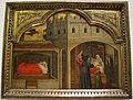 Martino da verona (attr.), la madre di s. eligio è informata della futura fama del figlio, 1397-1400 ca..JPG