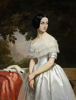 Sizergh Castle and Garden - Image: Mary Matthews (1823 1890), Madame de La Chère (05)