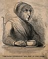 Mary Read, known as the royal centenarian. Wood engraving. Wellcome V0007374.jpg