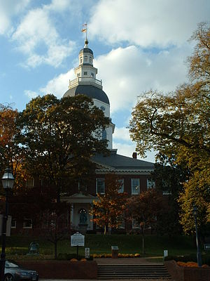 Maryland State House (back)