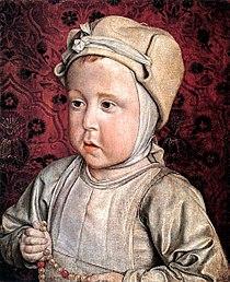 Master of Moulins - The Dauphin Charles-Orlant - WGA14467.jpg