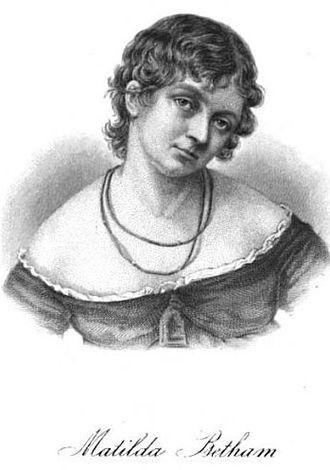 Mary Matilda Betham - Matilda Betham, estimate 1794-1820
