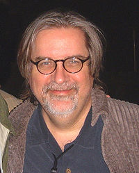 The Simpsons creator Matt Groening.
