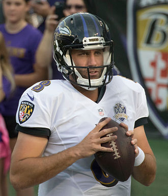 Matt Schaub - Schaub with the Baltimore Ravens in 2015