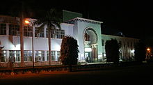 Maulana Azad Library night view.jpg