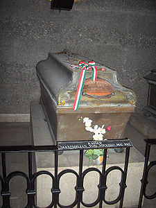 Tomb in the Imperial Crypt, Vienna, Austria