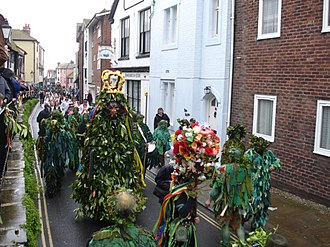 Jack in the Green - Hastings Jack in the Green procession.