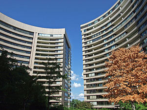 Residential high rises in Crystal City, Virginia