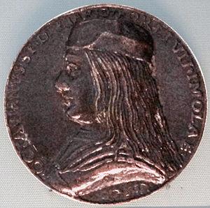 Ottaviano Riario - Medal of Ottaviano Sforza-Riario (1490s)
