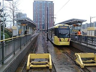 MediaCityUK tram stop