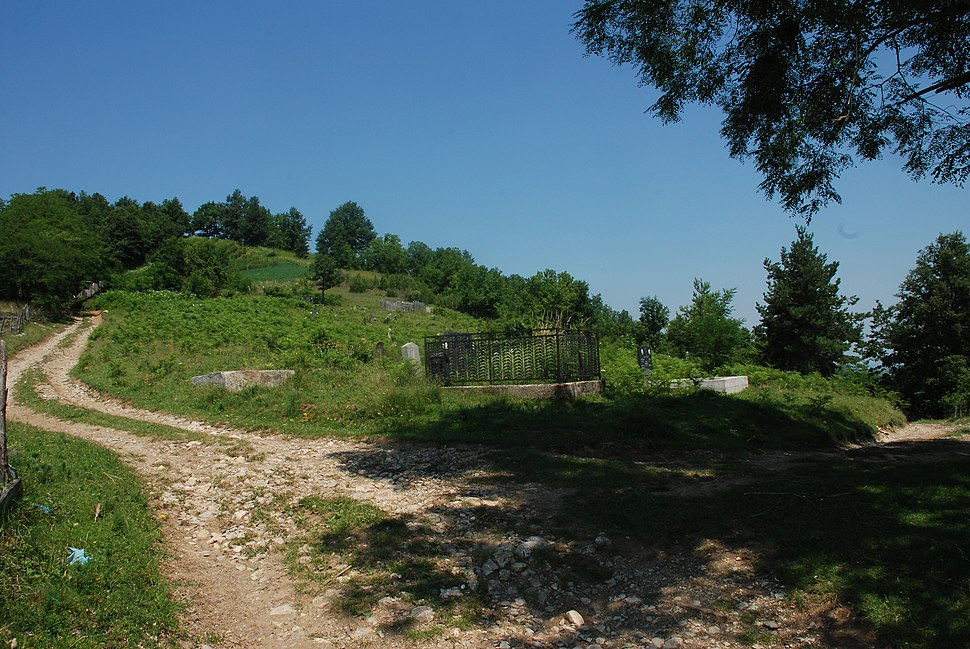Medvednik - zapadna Srbija - selo Rebelj - mesto Vreoci - Staro groblje u Vreocima 2