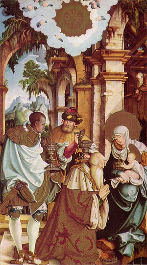 Meßkirch - Master of Meßkirch: Adoration of the Magi, c. 1538