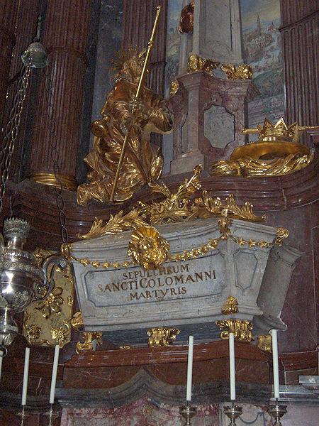17 juillet : Saint Colman D'Autriche (de Stockerau) 450px-Melk71