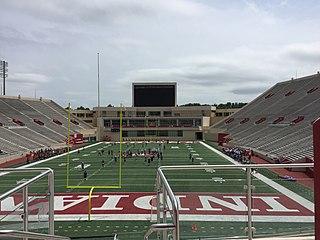 Memorial Stadium (Indiana University) American football stadium on the Indiana University campus in Bloomington, IN, US