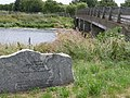 Memorial Stone near Fen Bridge, Crowland - geograph.org.uk - 1373079.jpg