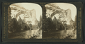 Merced River, Royal Arches, Washington Column and North Dome, Yosemite Valley, U.S.A, by H.C. White Co..png
