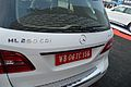 Mercedes-Benz - ML 250 CDI - 4Matic - 2143 cc - 4 cyl - Rear View - Kolkata 2015-01-11 3791.JPG