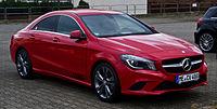 Mercedes-Benz CLA 180 Urban (C 117) – Frontansicht (1), 9. Februar 2014, Velbert.jpg