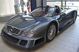 Mercedes-Benz CLK GTR - The only right-hand drive Mercedes-Benz CLK GTR Roadster once owned by the Sultan of Brunei