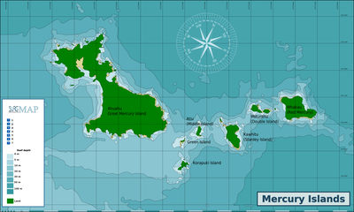 Nearest Service Station >> Diving the Mercury Islands – Travel guide at Wikivoyage